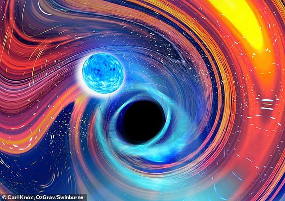 Ученые выяснили, как черные дыры поглощают нейтронные звезды.Вокруг Света. Украина