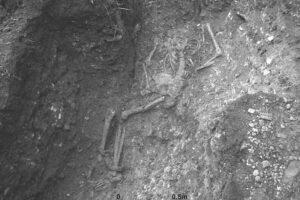В Британии нашли необычное захоронение: скелет римского раба в кандалах