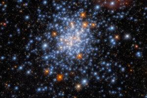 «Хаббл» заметил потрясающее звездное скопление в Малом Магеллановом Облаке
