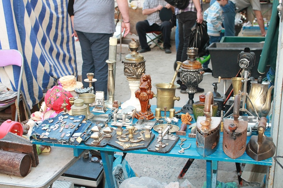 блошиные рынки Украины