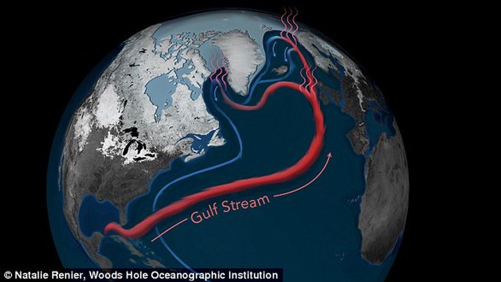 Полный кругооборот воды в океанах занимает 2800 лет