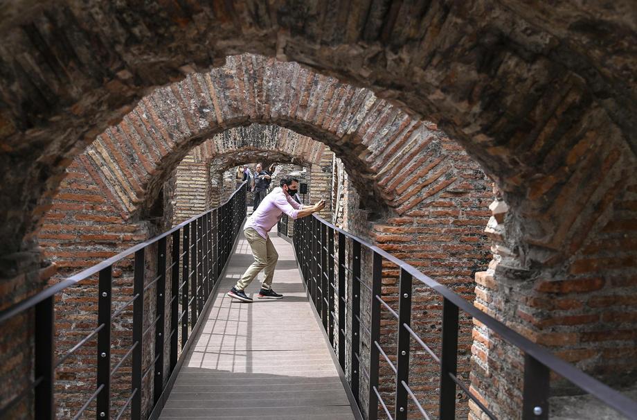 Римский Колизей впервые пустит туристов в подземелье
