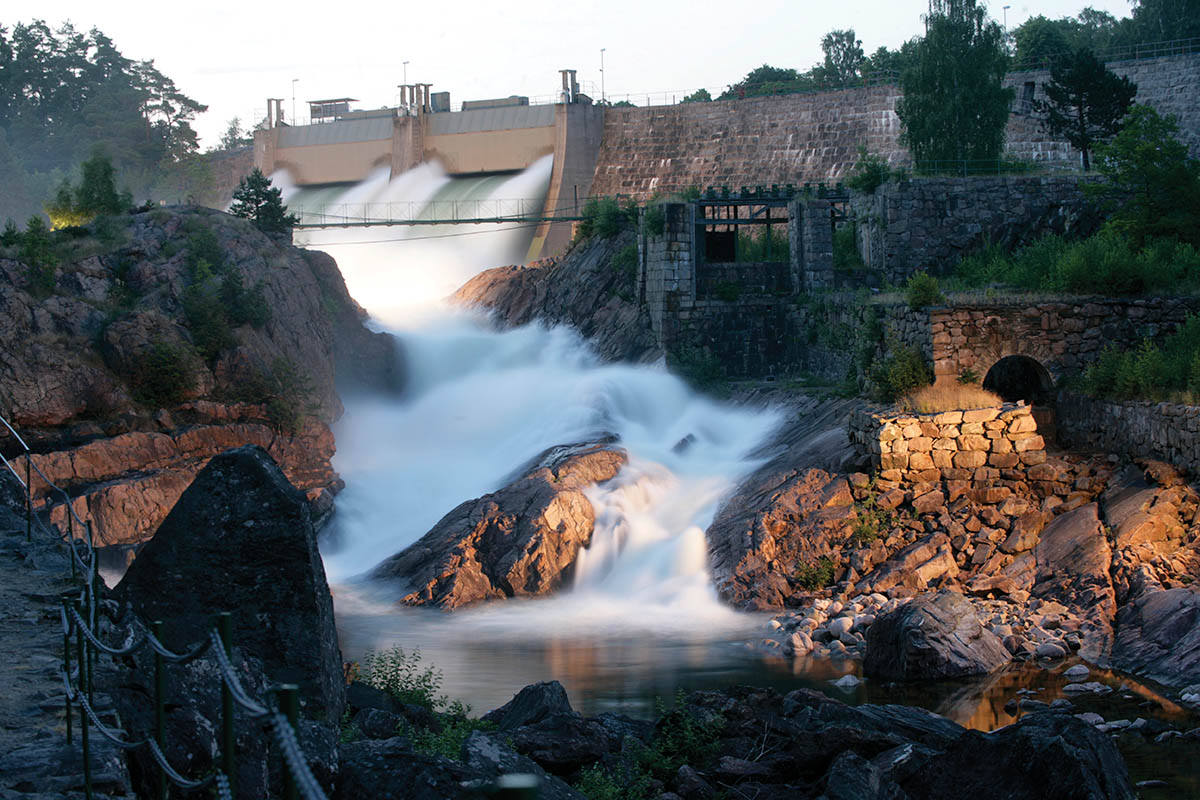 День водопадов в Швеции