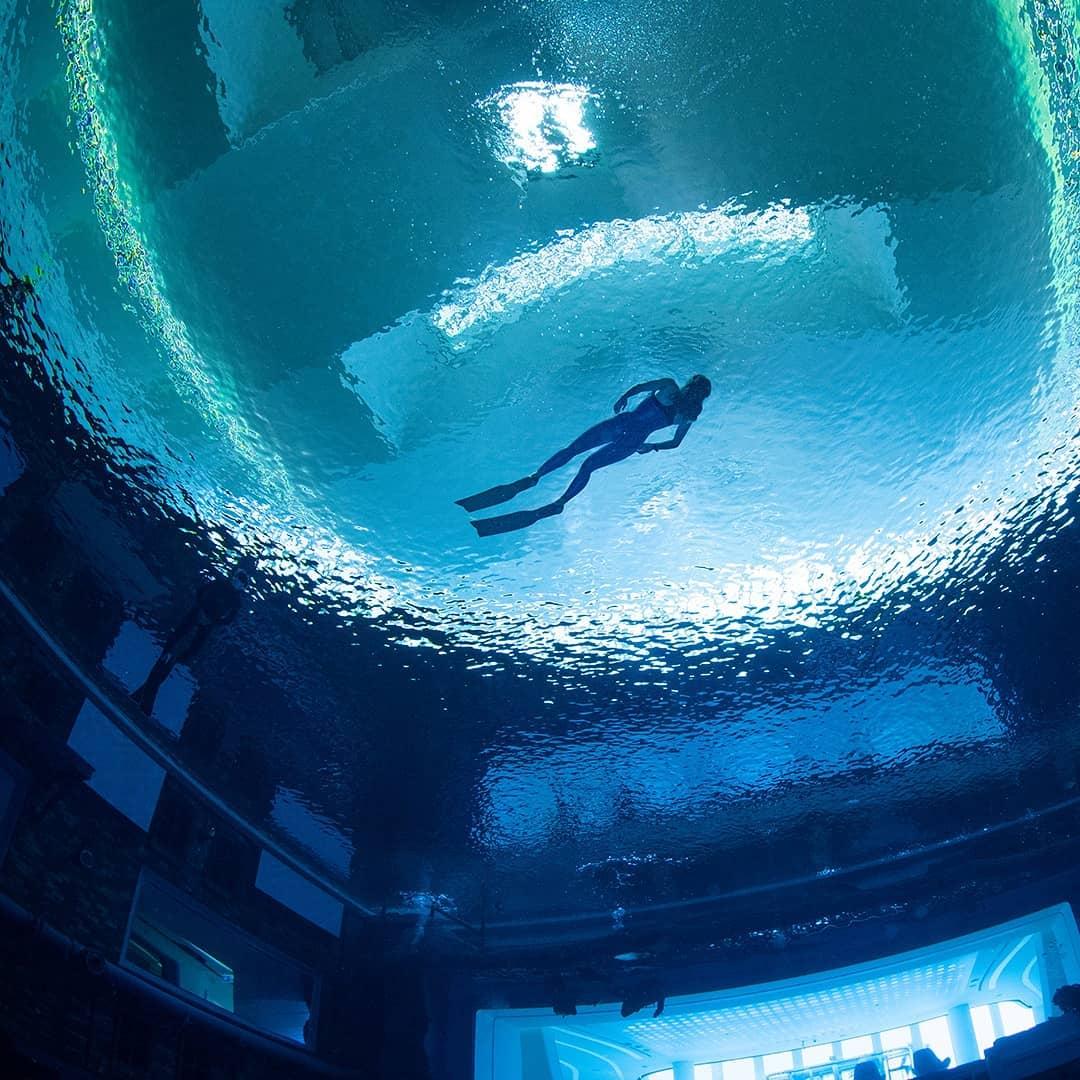 самый глубокий бассейн