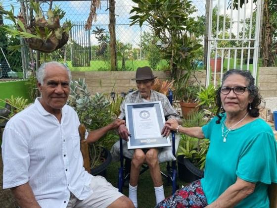 Самый старый мужчина на Земле живет в Пуэрто-Рико