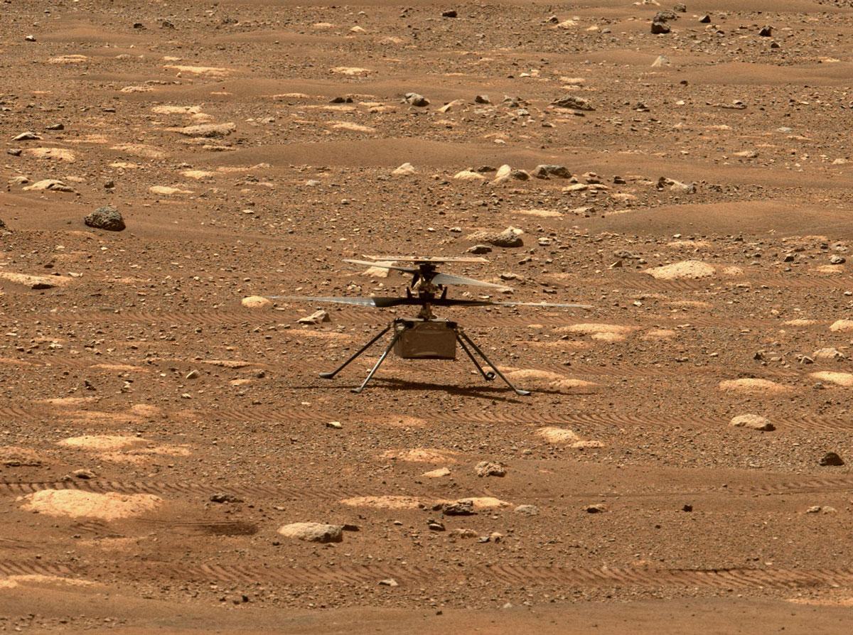 Вертолет NASA установил на Марсе новый потрясающий рекорд