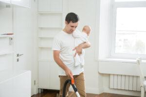 Как чистота в доме влияет на иммунитет ребенка
