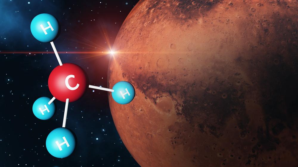 Откуда на Марсе метан и куда он исчезает