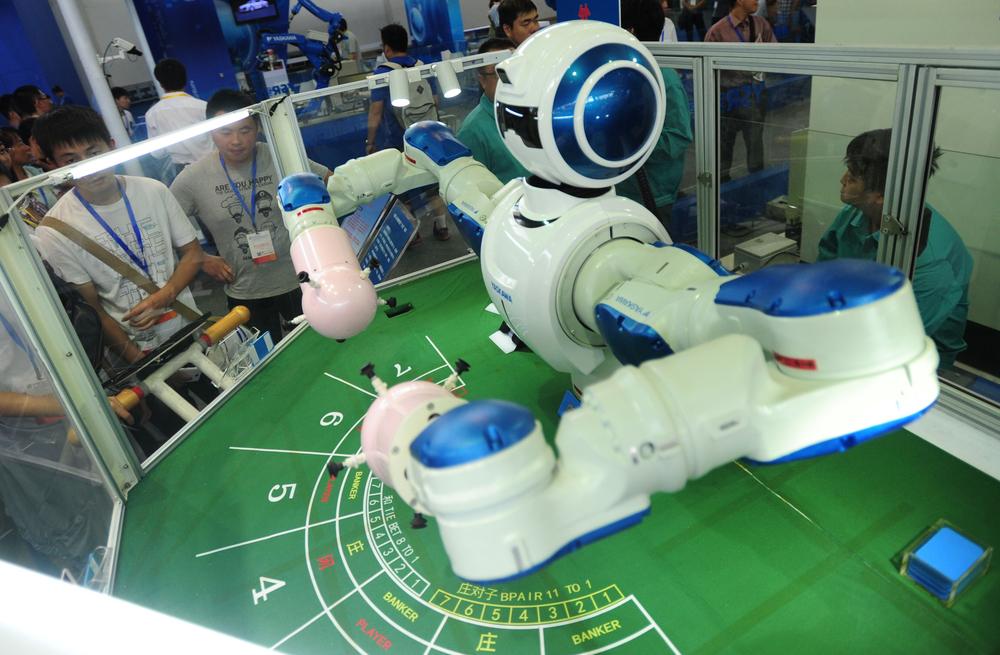 Роботы скоро заменят живых крупье в казино?.Вокруг Света. Украина