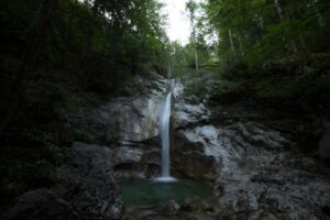 В Баварии из-за блогеров закрыли популярный водопад