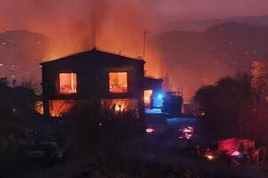 Пожар на Кипре: самый страшный за историю