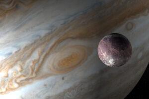 Астрономы впервые обнаружили водяной пар на спутнике Юпитера Ганимеде