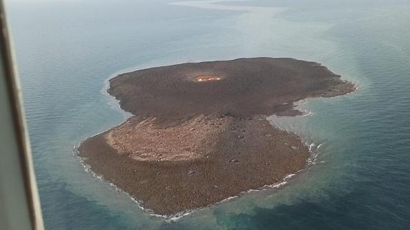 В Каспийском море взорвался грязевой вулкан.Вокруг Света. Украина