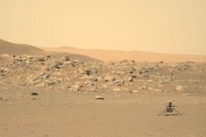 Вертолет NASA совершил над Марсом свой самый долгий полет: видео