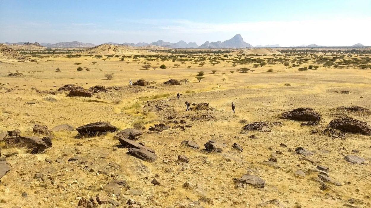 Древние гробницы Судана копируют звездные скопления