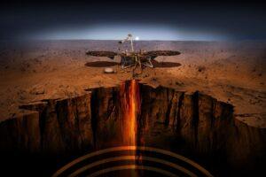 NASA впервые составило подробную карту внутреннего строения Марса