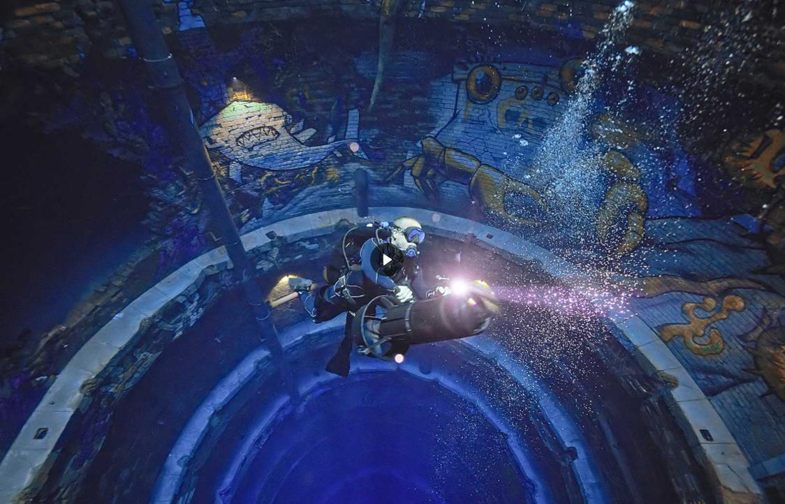 В Дубае открылся самый глубокий в мире бассейн для дайвинга.Вокруг Света. Украина