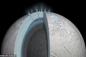 Метан в атмосфере Энцелада может быть признаком жизни на этом спутнике Сатурна
