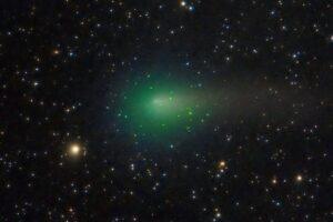 Комета Атлас окутана солнечным ветром, как вуалью: новые наблюдения спутника Solar Orbiter