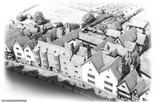 Историк и художник воссоздают тюдоровский особняк Томаса Кромвеля