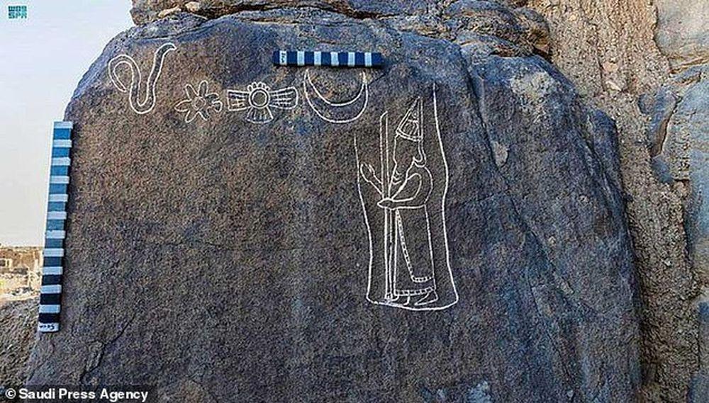 Археологи обнаружили 2550-летнее изображение царя Вавилона, высеченное в скале