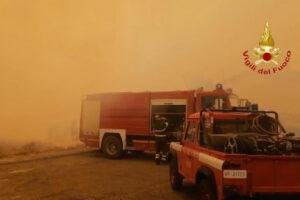 Сардиния переживает сильнейший за почти 30 лет пожар