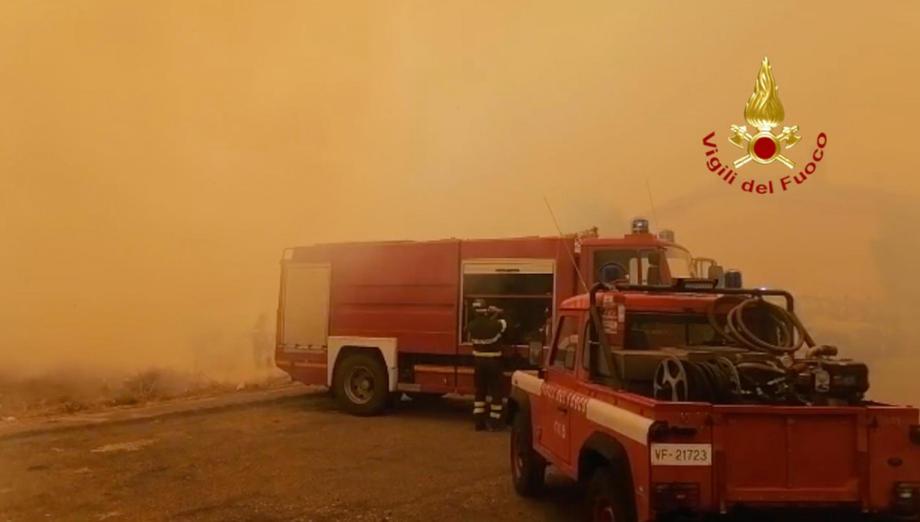 Сардиния переживает сильнейший за почти 30 лет пожар.Вокруг Света. Украина