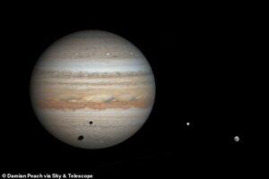 Астроном-любитель открыл 80-й спутник Юпитера