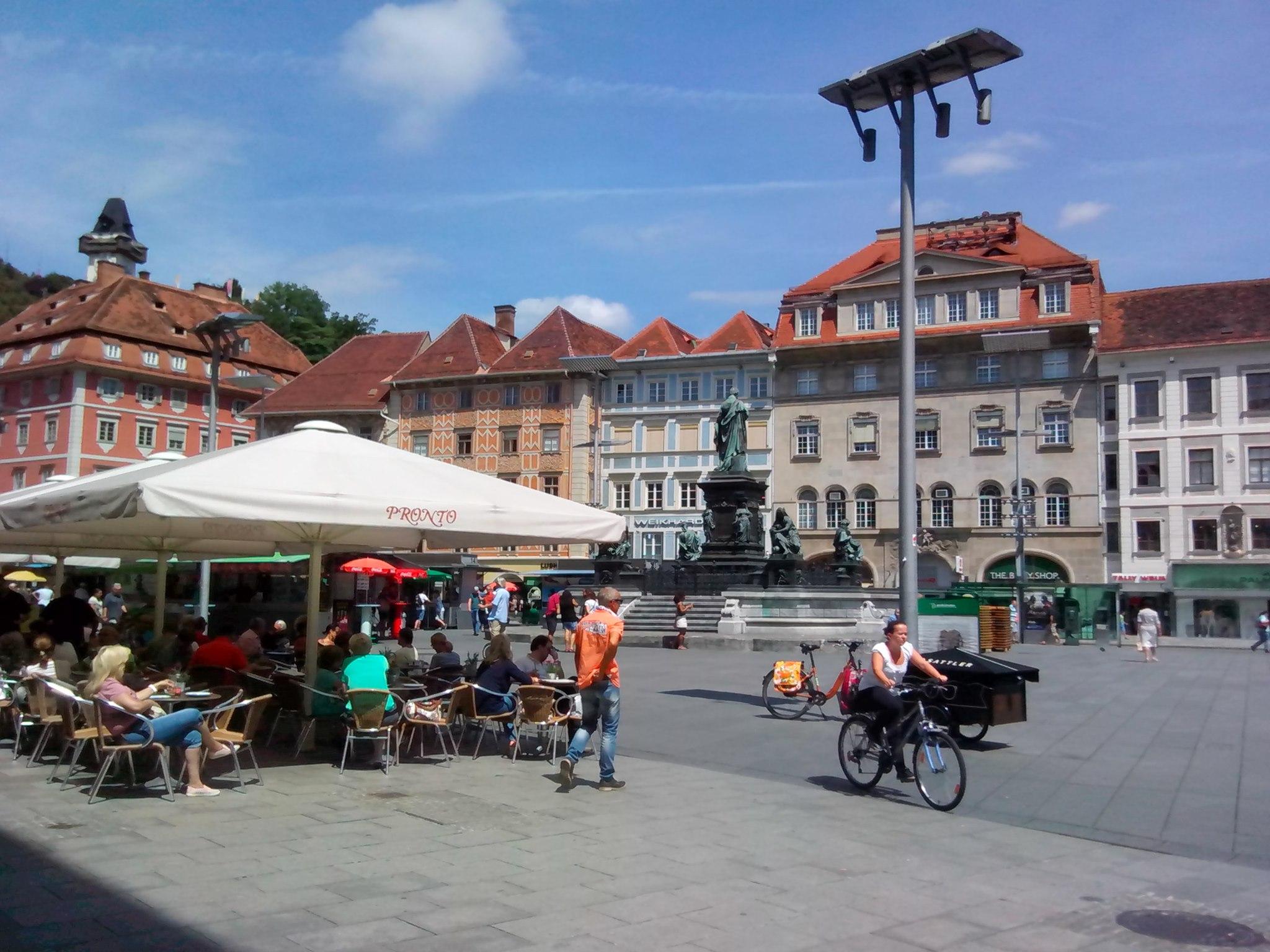 Грац: идеальный город, который похож на форму для кекса.Вокруг Света. Украина