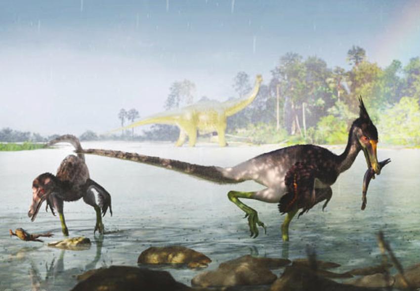 В Бразилии открыли новый вид пернатых динозавров.Вокруг Света. Украина