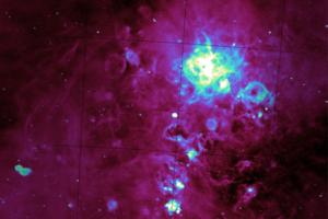 Астрономы создали подробную радиокарту Большого Магелланова Облака