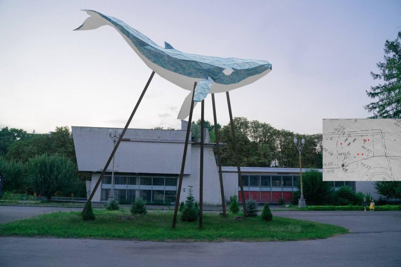 Киевского кита установят на ВДНХ.Вокруг Света. Украина