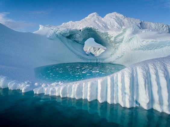 В горах Гренландии впервые в истории наблюдений прошел дождь.Вокруг Света. Украина