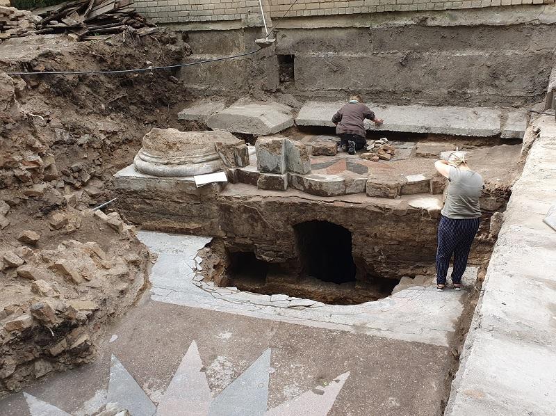 Археологи раскопали центральную часть Большой синагоги Вильнюса.Вокруг Света. Украина