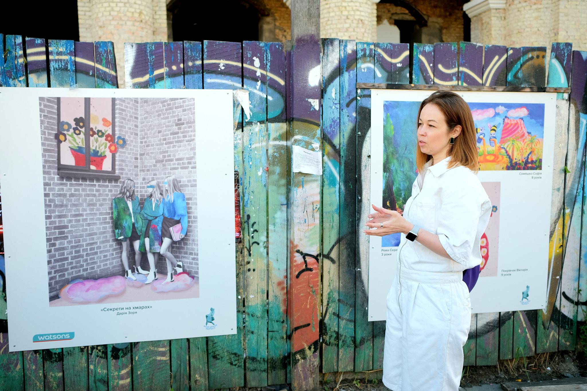 У Києві відбудеться виставка – колаборація дітей та художниць