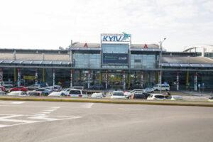 В аэропорту Киев дрон прошел весь путь пассажира: уникальное видео
