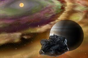 Астрономы прочли драматическую историю метеорита по скрытому рисунку, оставленному на нем магнитным полем  4,5 млрд лет назад