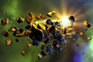 Две красные скалы в поясе астероидов возможно пришли из-за орбиты Нептуна