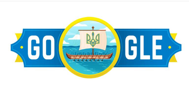 дудл, День Независимости Украины
