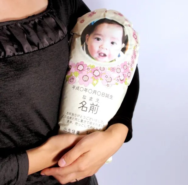 В Японии вместо новорожденного родственники могут