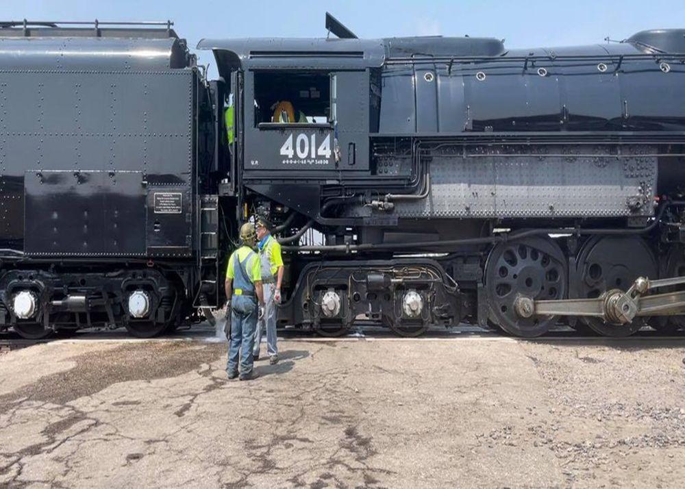 Big Boy: в США можно прокатиться по прериям на поезде с самым большим паровозом в мире.Вокруг Света. Украина