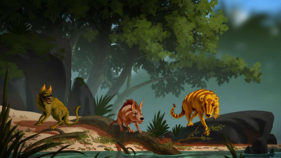 Гибель динозавров послужила толчком к стремительной эволюции млекопитающих.Вокруг Света. Украина