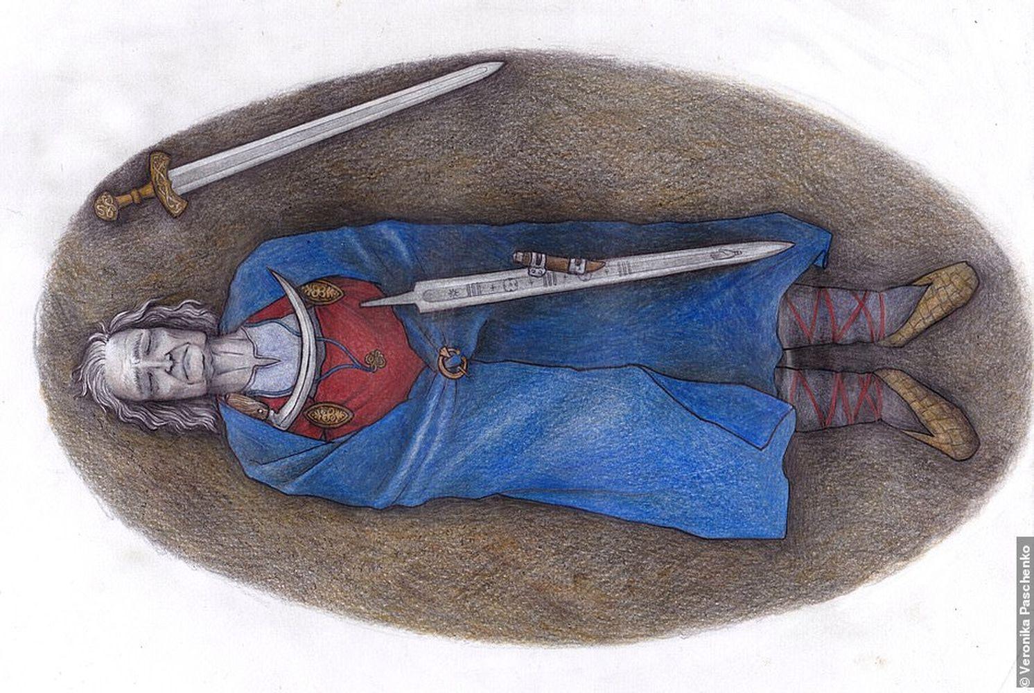 Тесты ДНК раскрыли тайну финского воина, похороненного в женской одежде.Вокруг Света. Украина