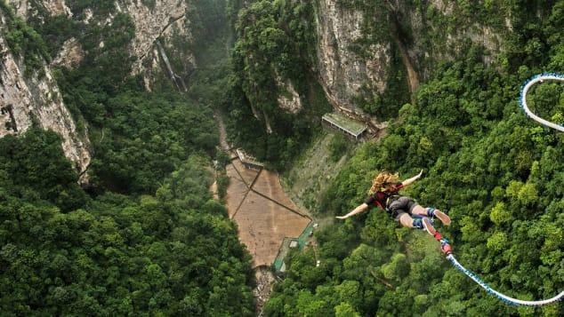 В Китае для туристов открыли самую высокую в мире тарзанку.Вокруг Света. Украина