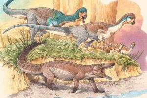 В Чили открыли новый вид ископаемого предка крокодилов