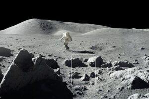 NASA использовала данные Аполлонов, чтобы понять происхождение воды на Луне