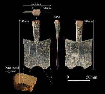 В Китае нашли древний монетный двор, где изготавливали деньги-лопаты.Вокруг Света. Украина