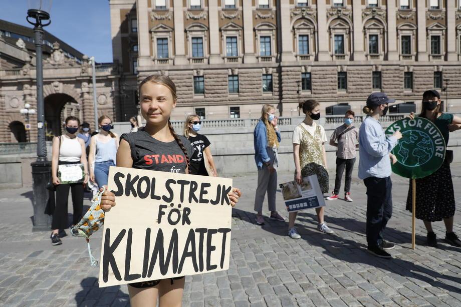 Девушка с обложки Грета Тунберг раскритиковала индустрию моды.Вокруг Света. Украина