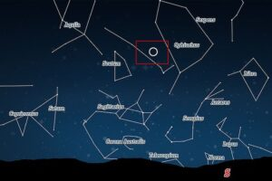 Звезда в 4,5 тыс световых лет от Земли вспыхнула так ярко, что стала видна невооруженным глазом