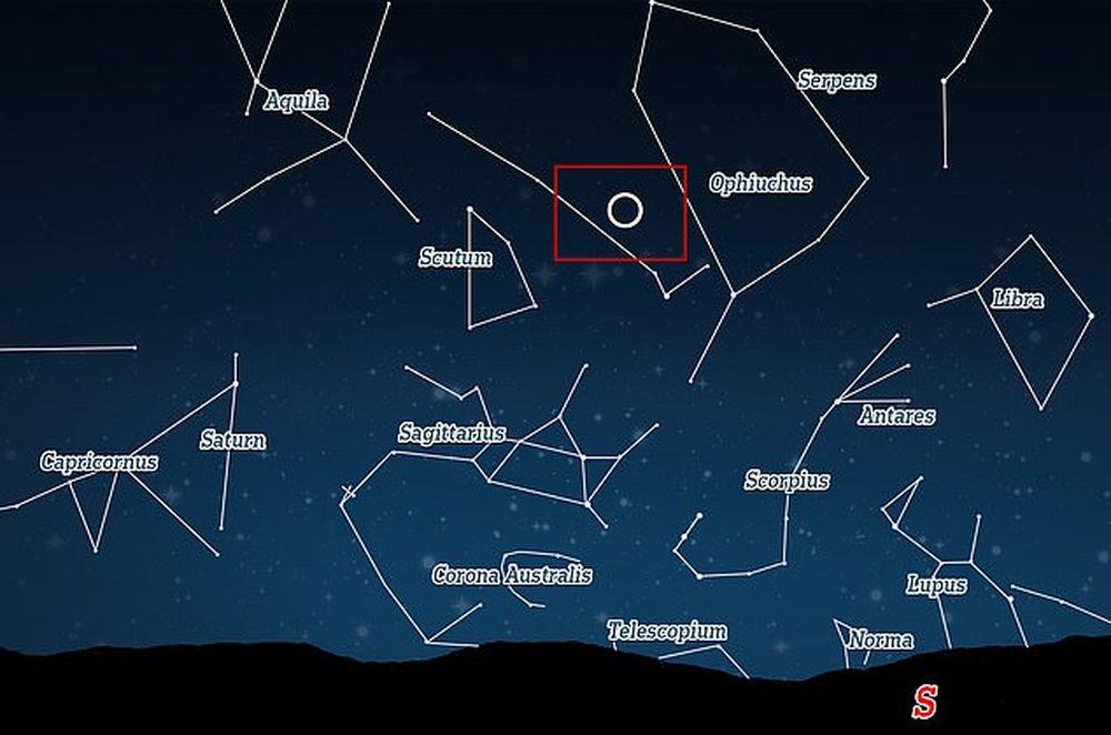 Звезда в 4,5 тыс световых лет от Земли вспыхнула так ярко, что стала видна невооруженным глазом.Вокруг Света. Украина